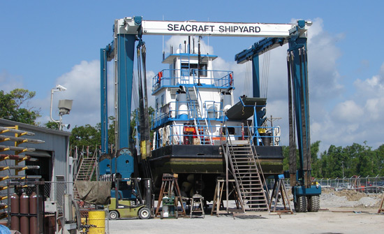About us - SEACRAFT Shipyard LLC of Amelia, Louisiana 70380